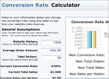 conversion costs calculator image