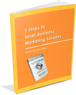 7 steps to small business marketing success e-book image